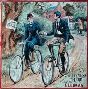 ycling advertisement poster - Elliman